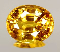 The Allure of Yellow Sapphire