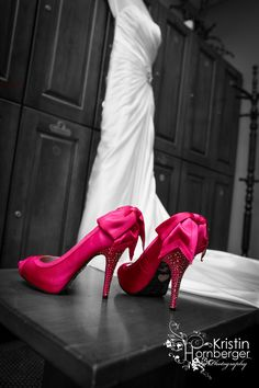 I Am Going To Have Hot Pink Shoes For My Wedding Day