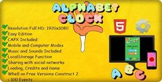 awesome The Alphabet Clock - Template(.capx) (Games)