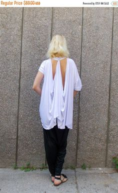 Now selling: SALE 25% OFF Extravagant White Blouse / Asymmetrical White Top / Extravagant White Summer Blouse TT... https://www.etsy.com/listing/235593234/sale-25-off-extravagant-white-blouse?utm_campaign=crowdfire&utm_content=crowdfire&utm_medium=social&utm_source=pinterest