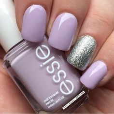 Ahhhh this lavendar color for mani essie polish nails
