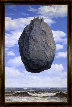 El castillo de los Pirineos - Magritte