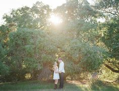 Romantic Rustic Engagement Photos - Inspired By This