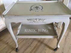 Annie Sloane paris grey and Rustic Bling embellishments Ornamental Mouldings, Paris Grey, Annie, Embellishments, Bling, Rustic, Creative, Handmade, Inspiration