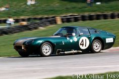 1963 Marcos Fastback GT, David Chaney, Cadwell Park,
