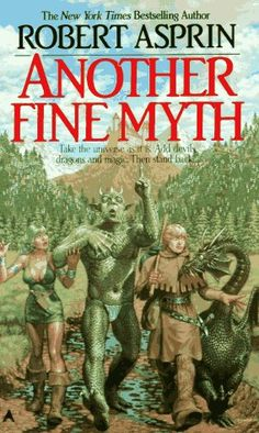 It's not like any fantasy/sci-fi story you've ever read before. It is very funny and I recommend reading the entire series from start to finish.