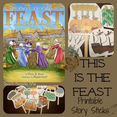 This is the Feast -printable story sticks
