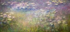 Water Lilies (about 1915–1926) Claude Monet French, 1840–1926 'In 1893, Claude Monet bought land adjacent to his property in Giverny, dug a pond, and turned it into a Japanese-inspired water …