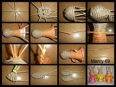 "Képtalálat a következőre: ""navod na podkovu master klass"" Craft Projects, Projects To Try, Arts And Crafts, Paper Crafts, Old Magazines, Basket Weaving, Wicker, Decoupage, Knitting"