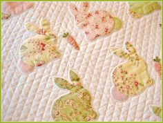 T. in the Burg: Bunny Quilt