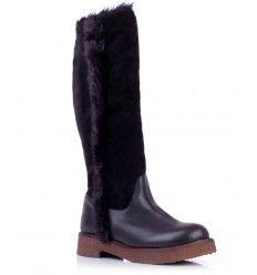 bota cuarzo negro valdez