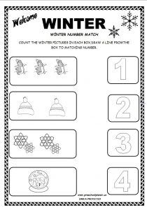 best winter worksheet for kids images  kids worksheets  winter worksheet for kindergarten kindergarten worksheets worksheets for  kids math activities maths