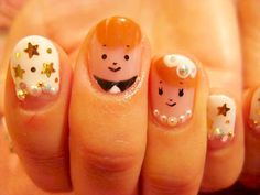 nail_2_150-24428330_image Wedding Nails, Cute Nails, Manicure, Nail Designs, Hair Beauty, Nail Polish, Nail Art, Weddings, Dress