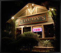 Trudy's in Austin, TX - a tradition since 1977. Fried Stuffed Avocados and Mexican Martinis!