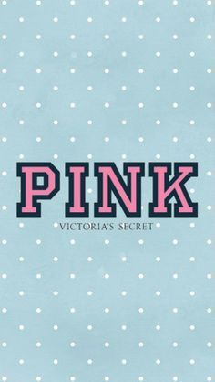 Victoria's Secret polka dot phone wallpaper I made, feel free to use it!