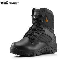 US $37.74 Winter Army Men's Military Outdoor Desert Combat Tactic Mid-calf Boots Men Snow Tactical Hiking Boots Botas Hombre Zapats. Aliexpress product