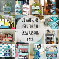 21 awesome uses for the Raskog cart
