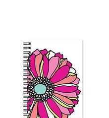 2016-2017 Whimsical Flower Small Weekly/Monthly Planner by Studio C | Studio C by Carolina Pad. #Planner