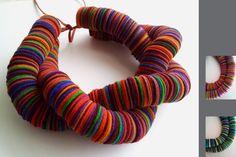 felt necklace  #LadiesAccessories