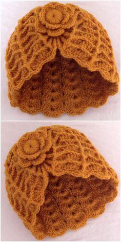 Crochet Cap, Crochet Gloves, Crochet Beanie, Crochet Gifts, Free Crochet, Knitted Hats, Flower Crochet, Easy Crochet Hat, Easy Crochet Patterns