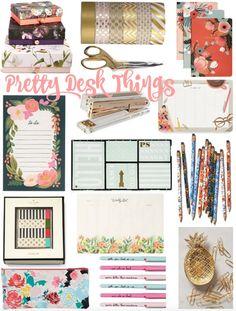 Pretty Desk Things