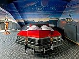 V8 Hotel in Germany is a car-themed hotel. All rooms and beds are made from various vehicles.
