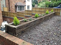 railway sleepers in the garden - Szukaj w Google