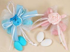 Tutorial porta confetti nascita o battesimo - come confezionare bombonie...