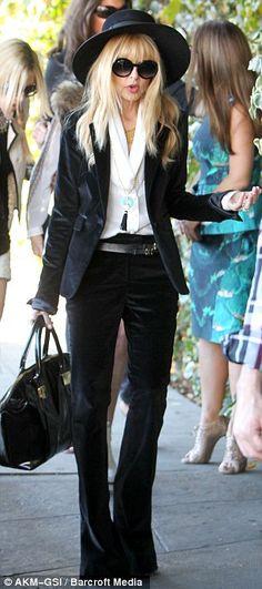 rachel zoe + velvet blazer + saint laurent inspiration
