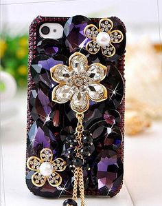 Glitter rhinestone bling bling case keeps your phone blinged out in an array of beautiful rhinestones. Visit http:// for more information