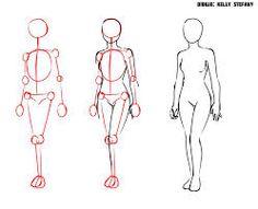 Aprende A Dibujar Un Cuerpo Humano Ropa Anime Y A Colorear Dibujos