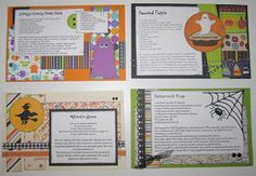 Paper Cottage: Flip Frame Recipe Class ~ October 12th