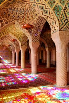 shiraz mosque, Iran