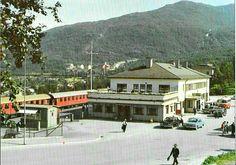 Nordland fylke Narvik jernbanestasjonen 1970-tallet