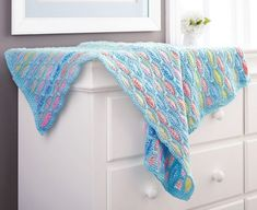 Waving Stripes Baby Blanket - Off All Afghans - Promotions ~ shown in Sugar Baby Stripes or choose any colour from chart ~ x ~ easy level ~ ON SALE - CROCHET Crochet Blanket Patterns, Baby Knitting Patterns, Baby Blanket Crochet, Crochet Baby, Crochet Blankets, Baby Blankets, Star Baby Blanket, Car Blanket, Afghan Blanket