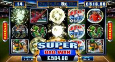 Cricket Star Online Slot Game - Euro Palace Casino
