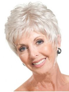 10 Best Grey Wigs for Older Women images  90eea02e5b60
