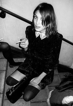 Alexa Chung in Little Black Dress | Style Icons