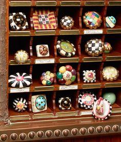 A new view on MacKenzie-Childs ceramic knobs!
