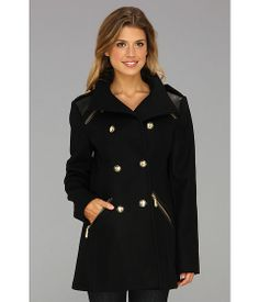Vince Camuto Military Peacoat