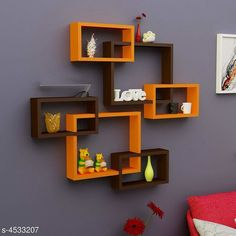 Shelves Attractive MDF Wall Shelves Material: MDF  Size(L x B X H): Large Box 40 cm x 10 cm x 33 cm small Boxes: 28 cm  x 10 cm  x 17 cm  Description: It Has 6 Pieces Of Wall Shelves Country of Origin: India Sizes Available: Free Size   Catalog Rating: ★4.3 (1121)  Catalog Name: Sia Attractive MDF Wall Shelves Vol 2 CatalogID_655761 C127-SC1622 Code: 0121-4533207-7113