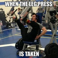 When the leg press is taken improvise gym meme on astrologym Workout List, Workout Memes, Gym Memes, Workouts, Exercises, Hitt Workout, Funny Workout, Fitness Motivation, Fitness Quotes
