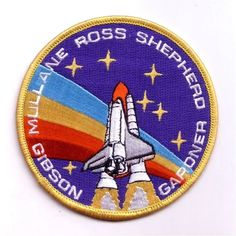 patch space shuttle missão  sts-27 nasa