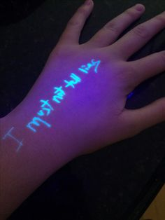 My sister had grandparents day and they let her buy this one invisible ink pen that she really wanted at the book fair. I asked if I could borrow it and well when the fandom takes over you.... the fandom takes over you