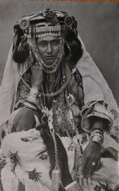 Ouled Nail woman.