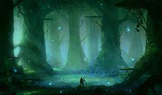 Swamp by *Blinck on deviantART