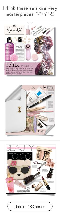 """""""I think these sets are very masterpieces! *-* (n°16)"""" by tempestaartica ❤ liked on Polyvore featuring beauty, philosophy, WALL, Forever 21, Essie, By Terry, Estée Lauder, Stila, Laura Mercier and Clinique"""