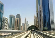 The Metro, a cheap alternative to getting around Dubai. Image by Fabio Achilli / CC BY 2.0