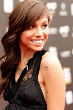 Christina Perri. I lover her LA Tatt
