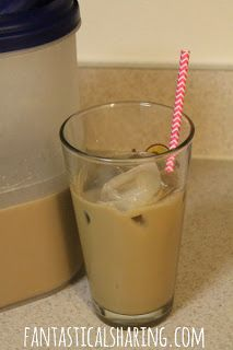 Fantastical Sharing of Recipes: Drinks Week: DIY Starbucks Frappuccino